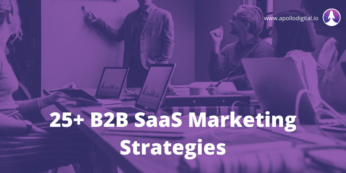 b2b saas marketing strategies cover image