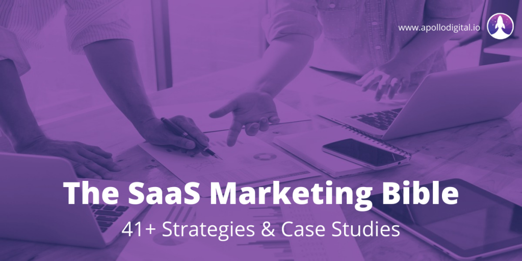 saas marketing bible cover image