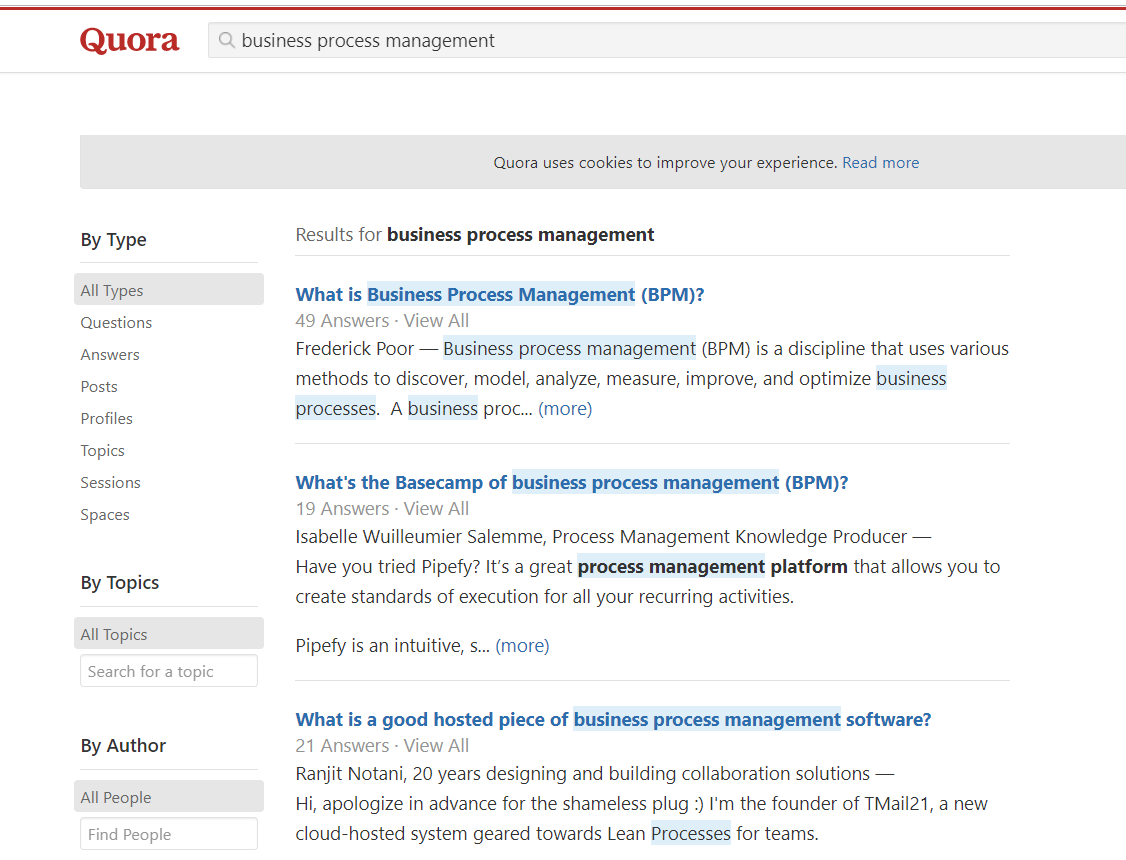 business process management quora