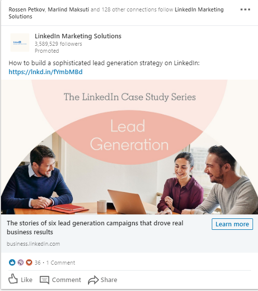 Linkedin Marketing Solutions