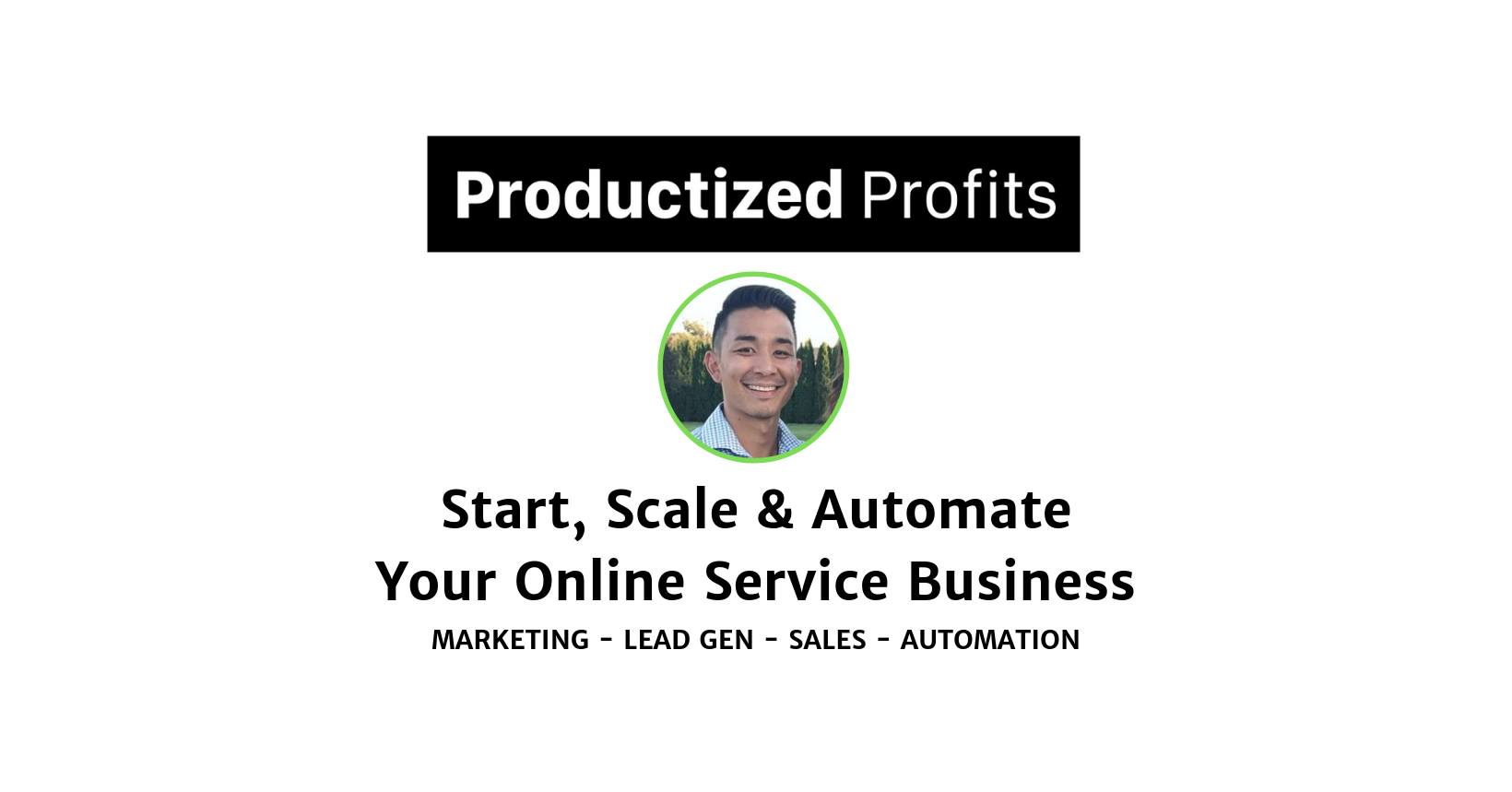Productized Profits Facebook Group