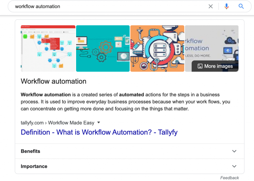 Workflow automation ranking #1