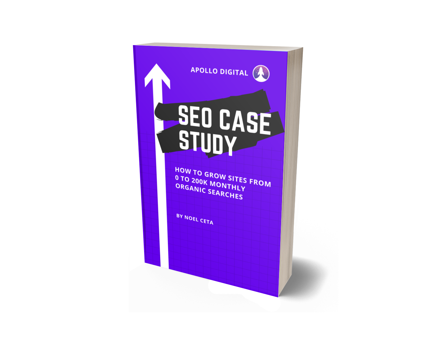 SEO Case Study PDF by Apollo Digital