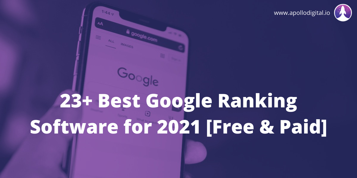 Best Google Ranking Software