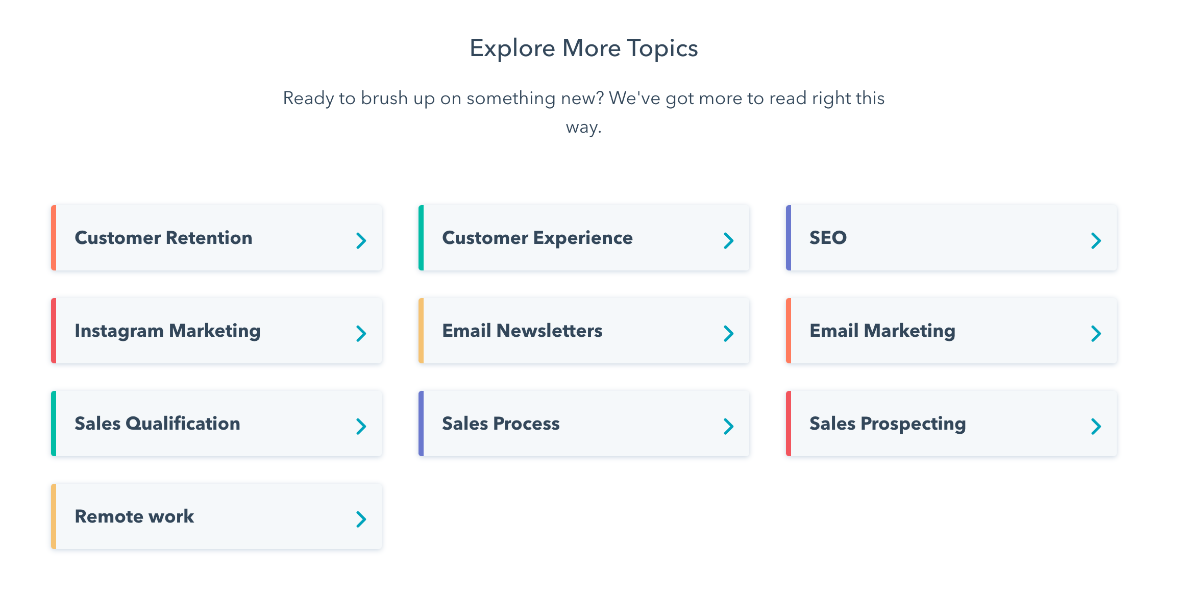 Hubspot blog topics SEO Example