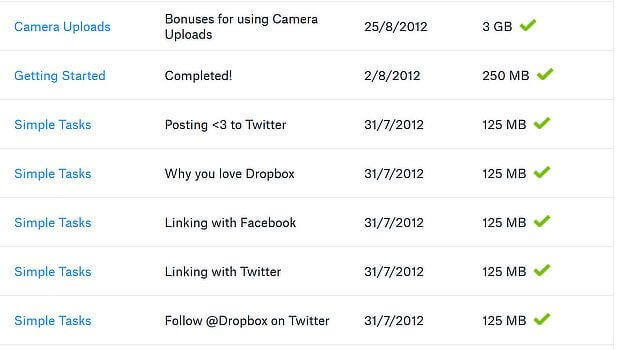 Dropbox - Growth Hacking Examples