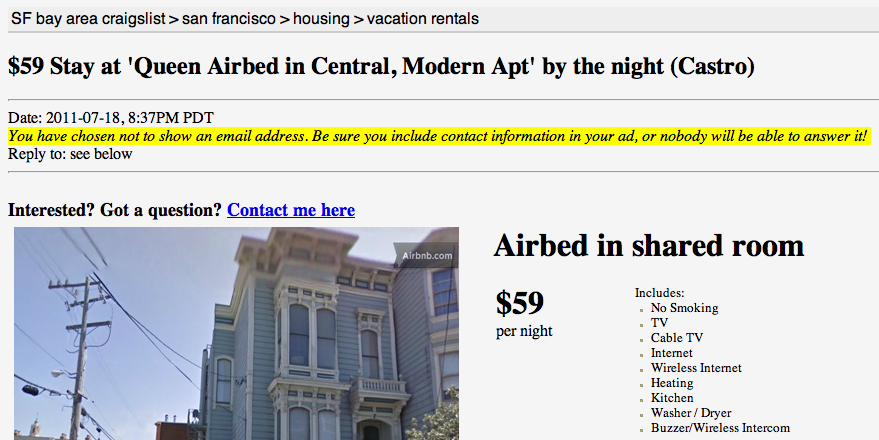 Airbnb - Growth Hacking Examples